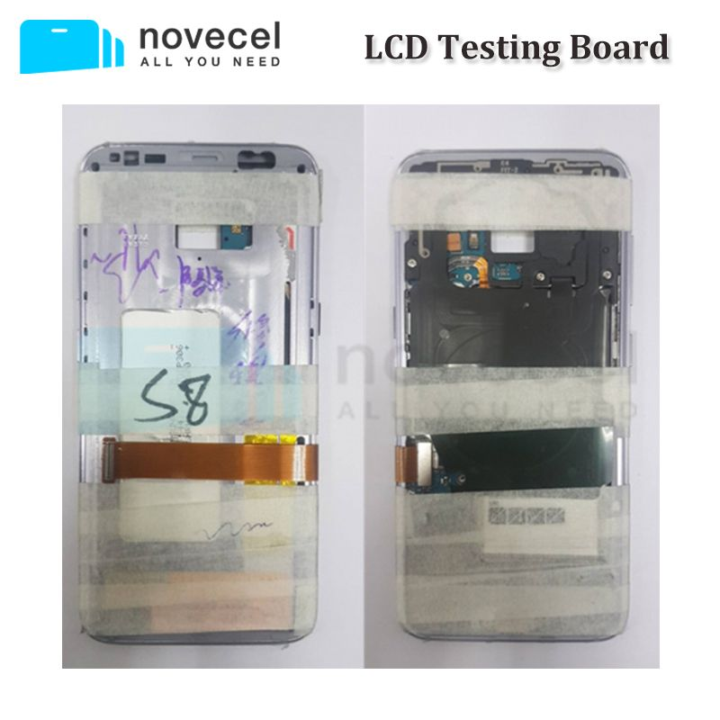 Novecel LCD Screen Testing Mainboard / Motherboard with Middle Housing Frame and Battery For Samsung S8 S8+ S7 Edge S6 Edge Plus