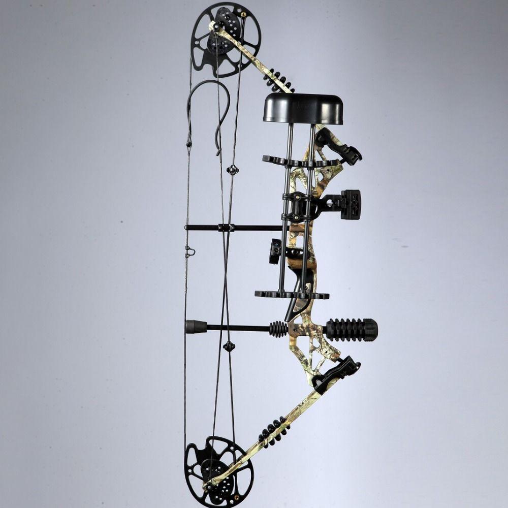Ensembles d'arc composé de chasse de tir à l'arc droitier ou gaucher de 35 ~ 70lbs