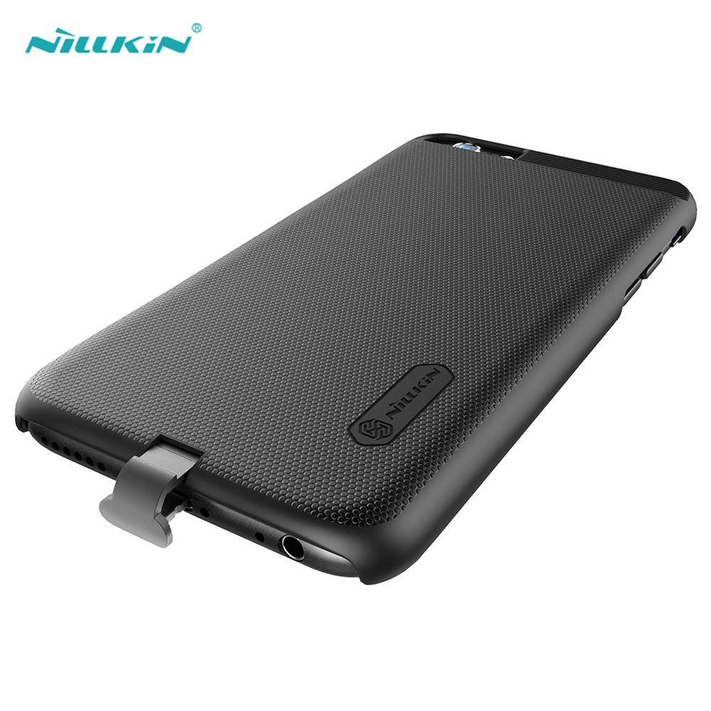 Nillkin Noir Qi Sans Fil Chargeur Récepteur pour iPhone 6 6 s Sans Fil Charge Cas Couverture De Téléphone Portable pour iPhone 6 6 s Plus