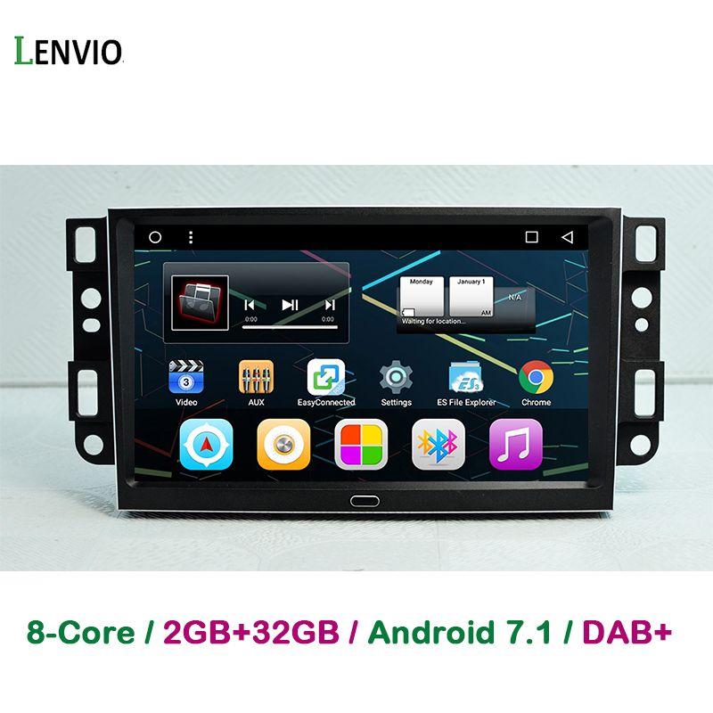 Lenvio 9 IPS RAM 2 GB + 32 GB Octa Core Android 7.1 AUTO GPS DVD Player Für Chevrolet Epica captiva Lova 2006-2011 Aveo Optra Funken