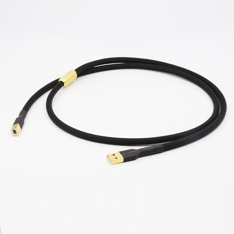 Cable USB Tipo A a Tipo B de Alta Calidad de alta fidelidad de Alta Fidelidad Cable Para DAC USB cable de Datos