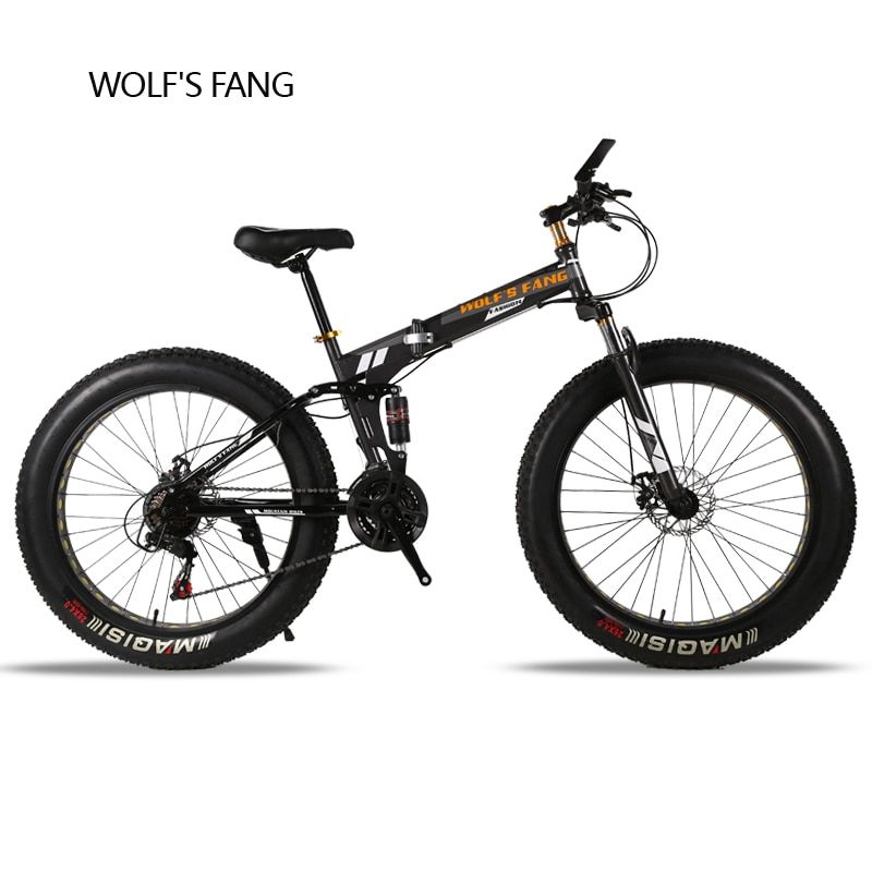 wolf's fang Folding Bicycle 24speed 26