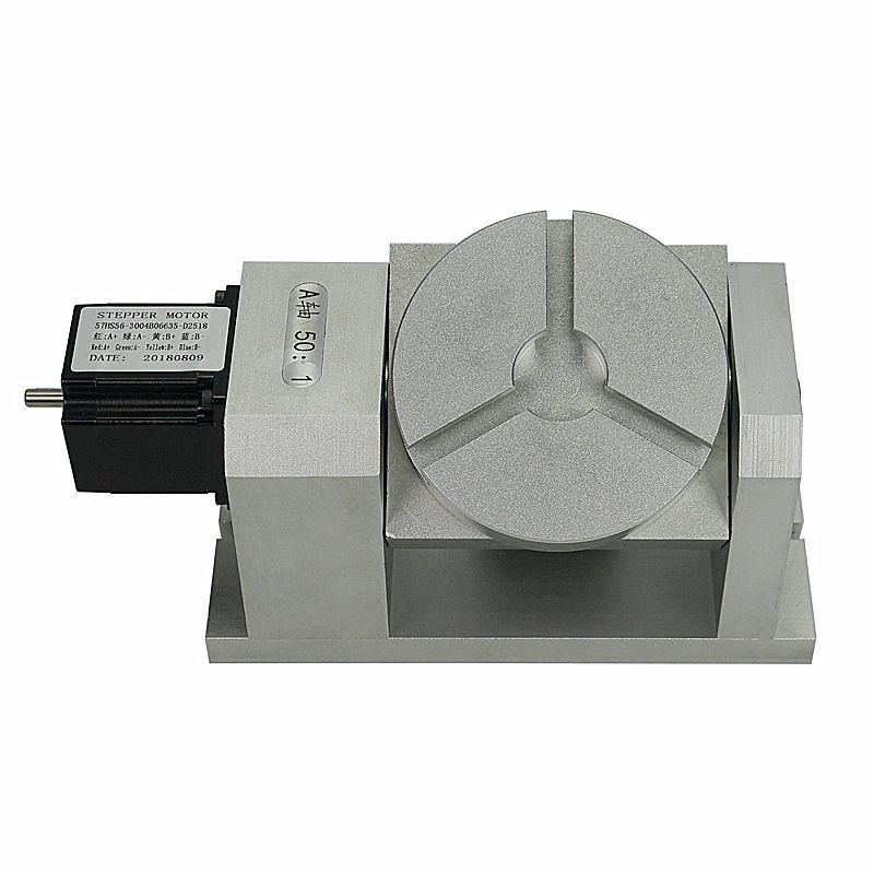 Rotary 4th 5th achse harmonische getriebe (keine hysterese) CNC teilapparat EINE achse, und C achse 50: 1 harmonic minderer für cnc maschine