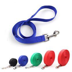 Perro correa de nylon para perros 5 colores 3 M 4,5 m 6 m 10 m entrenamiento leash gatos Perros arnés Collar Leash Correa