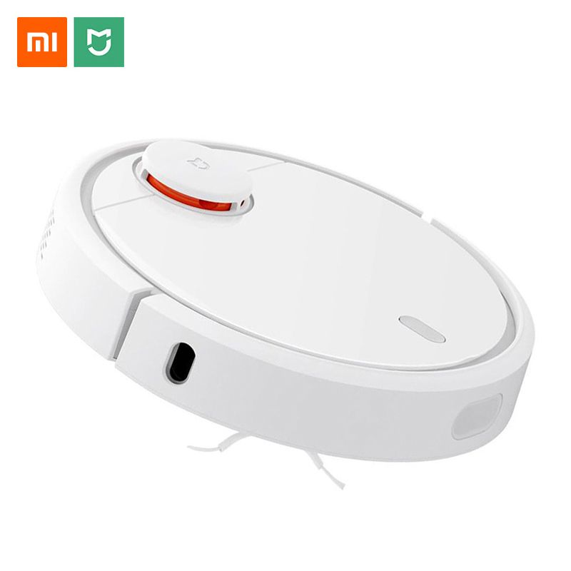 Original Xiaomi Mi Robot Vacuum Cleaner for Home Automatic Sweeping Charge Dust Cleaner Smart Planned Mijia App Remote Control