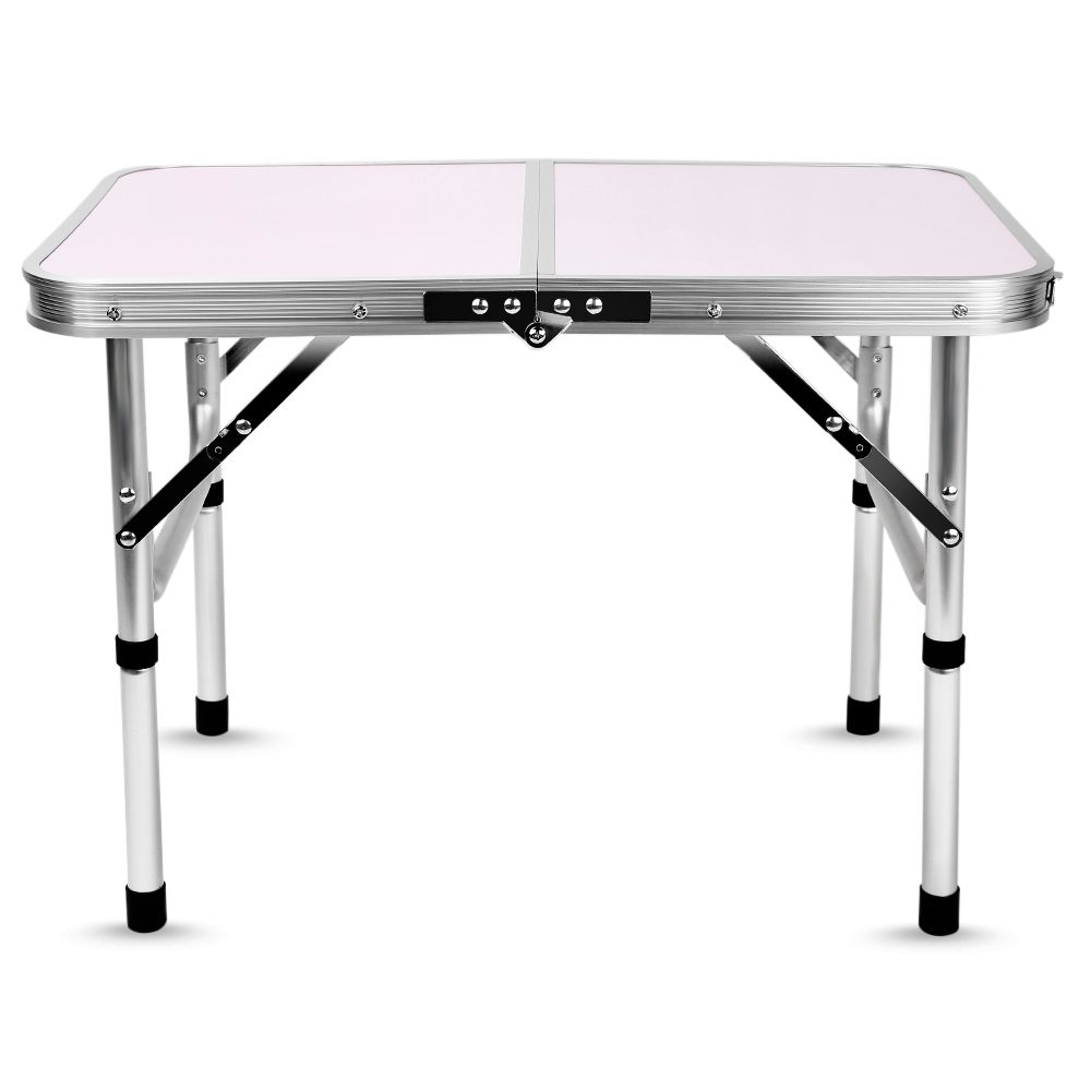 Aluminum Folding Camping Table Laptop Bed Desk Adjustable Outdoor Tables BBQ Portable Lightweight Simple Rain-proof