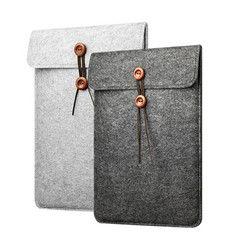Wool Felt Laptop Sleeve Bag for Funda Macbook Air Pro Retina 11 12 13 15 Notebook Cover Case for Xiaomi Pro 15.6 Huawei Lenovo