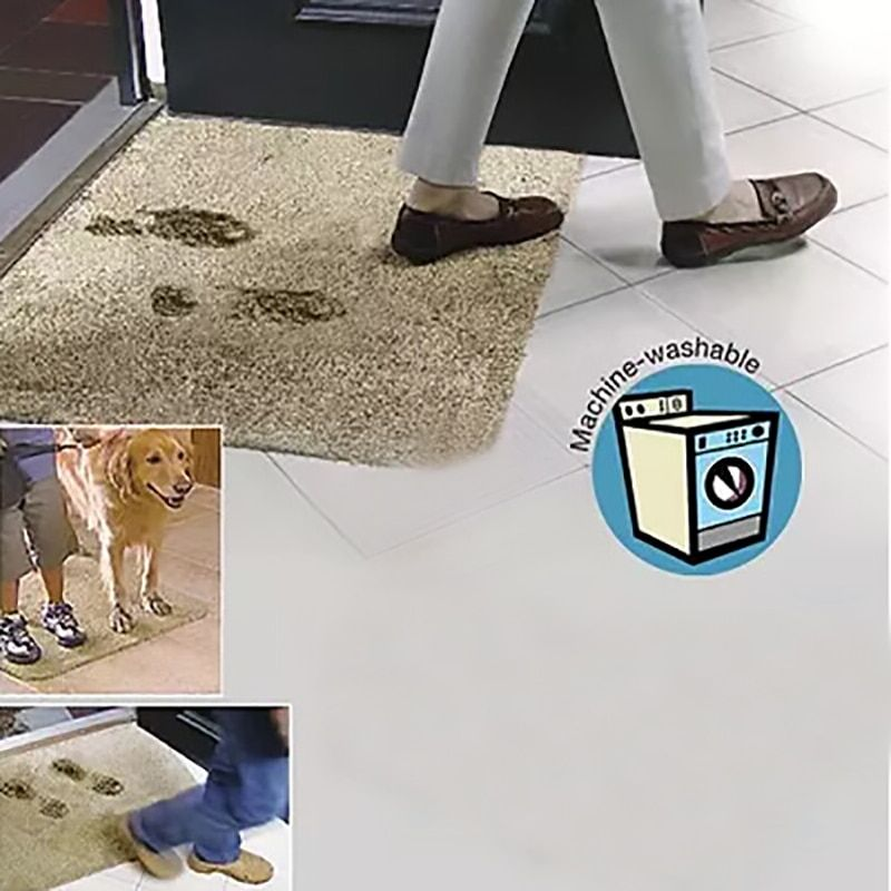 Super Absorbant Magic Door Mat Microfibre Purifying Step Super Mat Washable Doormat Carpet for Home