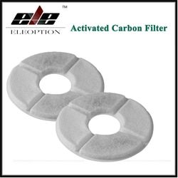 2 pcs/lot Activated Carbon Filter For Flower Style Automatic Cat Dog Pet Water Drinking Fountain