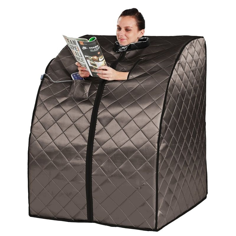 Far Infrared Sauna Negative Ion Detox Portable box Serene Life Portable Infrared Home Spa Weight Loss Calories Burned