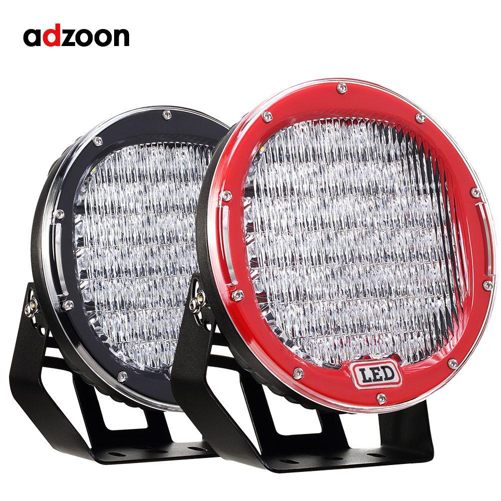 ADZOON 9 inch LED Work Light Bar 225W LED Light Bar 12V 24V Spot Flood For 4WD 4x4 Truck Trailer SUV Offroad Boat ATV