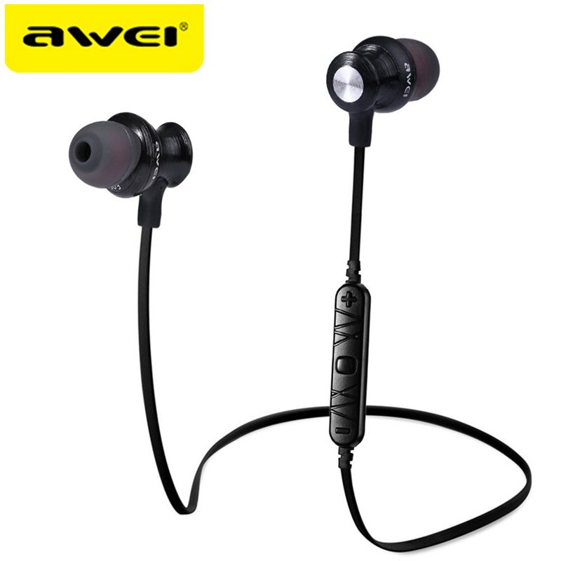 AWEI A980BL Bluetooth Wireless Earphone sport headphones for running Auriculares Audifonos Fone De Ouvido For iPhone Sony