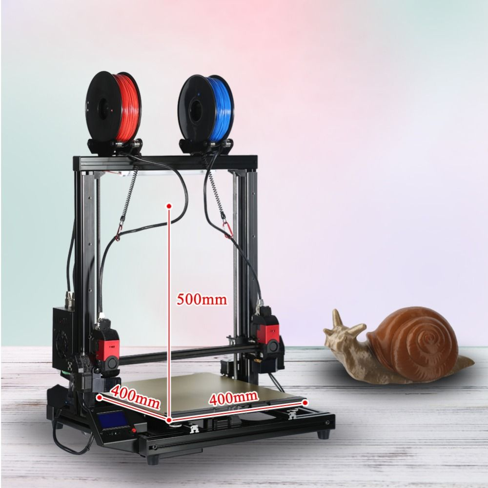 Open source RepRap cheap 3D Printer DIY Kit with 0.4mm Nozzle 1.75mm Filament
