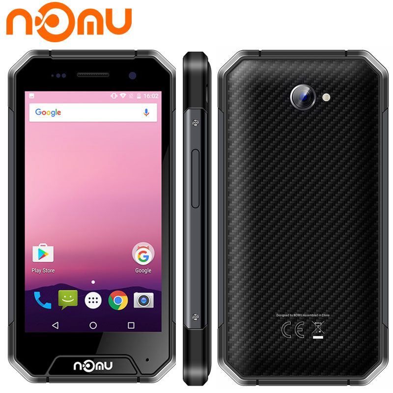NOMU S30 Mini Smartphone Shockproof IP68 Waterproof 3GB RAM 32GB ROM MTK6737T Dust 3000mAh 4.7''4G LTE Android 7.0 Mobile Phone
