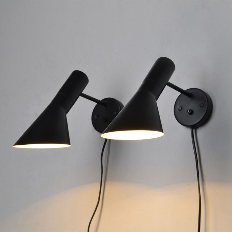 Free Shipping Replica Modern Louis Poulsen Arne Jacobsen Wall lights Creative AJ Wall lamp Modern Sconce 1 Light
