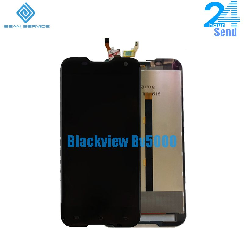 For Original Blackview BV5000 LCD Display+Touch <font><b>Screen</b></font> Digitizer Assembly Replacement +Tools 1280X720 5.0 inch in stock