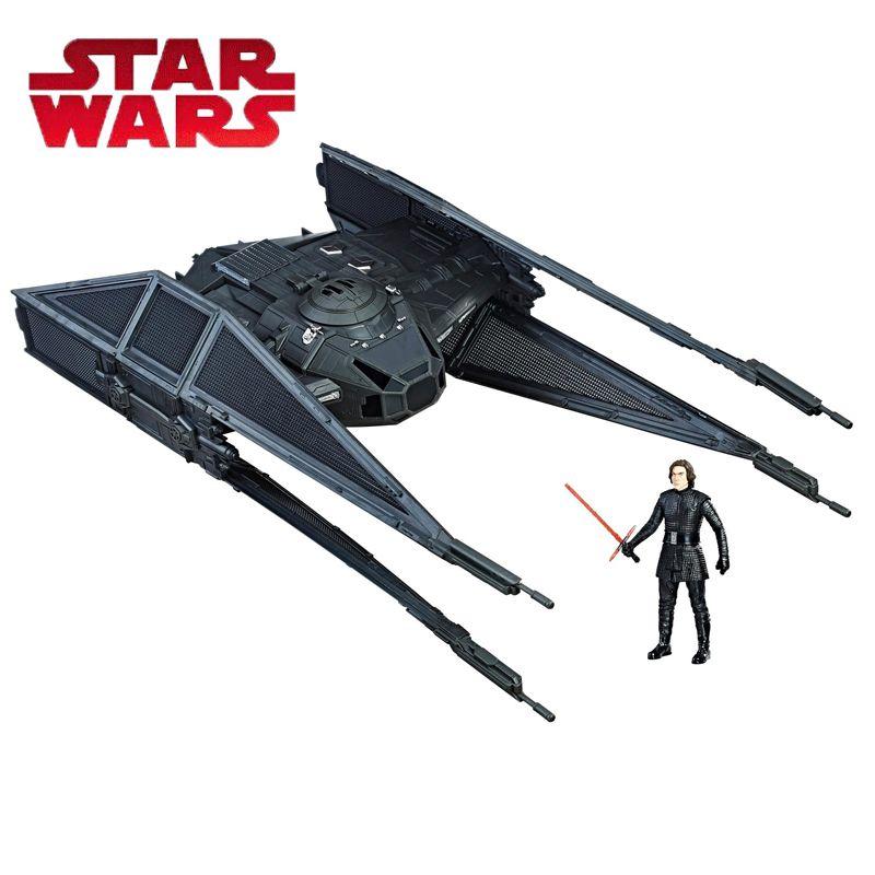 2018 Star Wars Toy Force Link Kylo Ren's Tie Silencer Tie Silencer & Kylo Ren TIE Pilot Figure Kylo Ren Pilote Tie Model Toys
