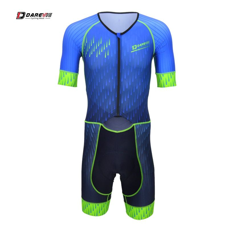 Darevie summer short sleeve cycling skin suit professional cycling wear suits