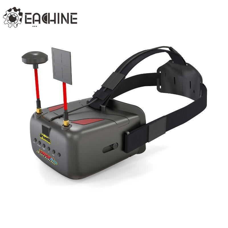 Eachine VR D2 Pro 5 Inches 800*480 40CH 5.8G Diversity FPV Goggles w/ DVR Lens Adjustable