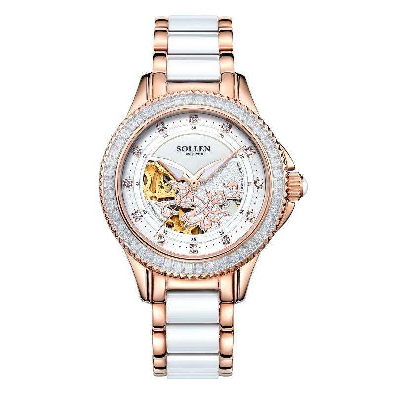 Керамика часы подарок на Новый год/подарок для подруги/жена автоматический Женские часы женские наручные часы с Керамика S ремешок для часо...