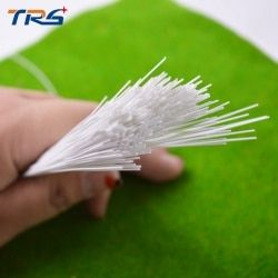 100 Pcs 0.5*0.5 Mm Round Rod Plastik ABS Tongkat JYG-0.5 50 Cm Panjang