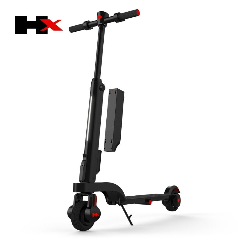 2017 HX X6 4.4AH Electirc Scooter Mini compact Design Electric Vehicle with Bluetooth