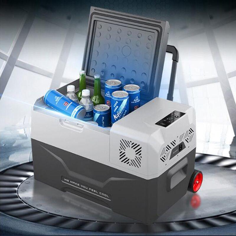 30L Kühlschrank Auto-Kühlschrank 12V Tragbare Mini Kühlschrank Kompressor Auto Kühlschrank Auto Kühlschrank Camping Nevera Portatil