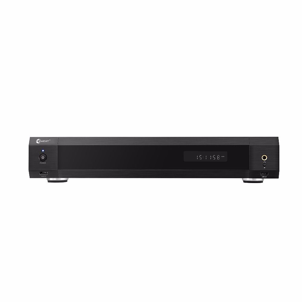EWEAT R11 4 karat HiFi Fieber ebene Blau-ray HDD media palyer Dual HDMI audio & video trennung smart tv heimkino sound system