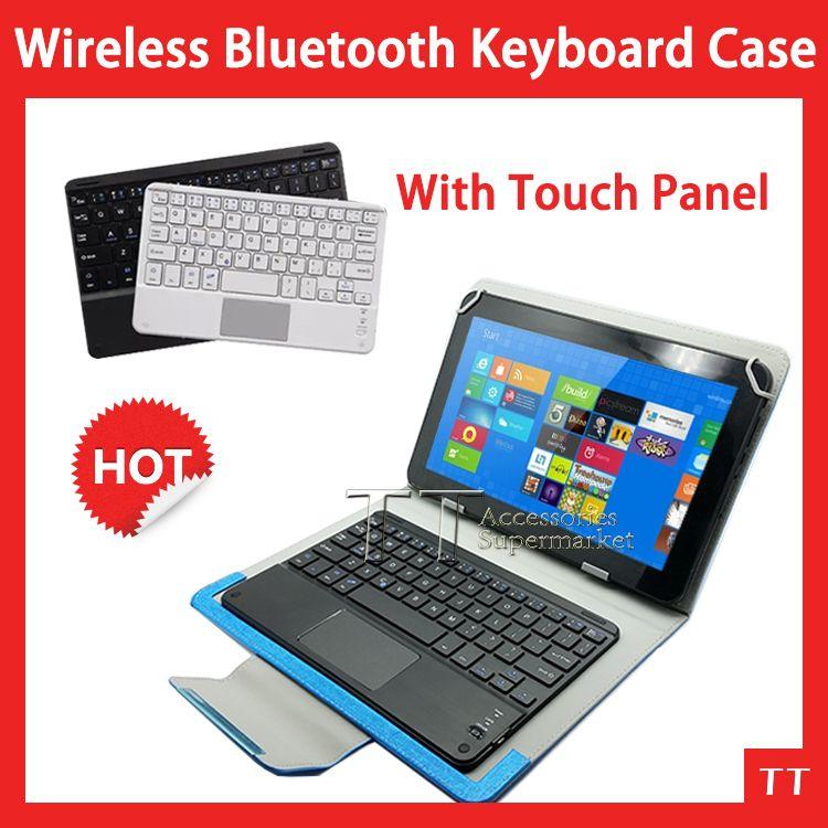Clavier universel Ultra mince sans fil de bluetooth de souris de touchpad pour le PC d'android pour Windows pour 9 9.7 10 10.1 pouces de tablette pc