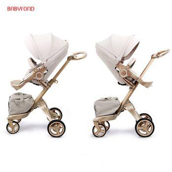 Freies schiff! Kostenlose Geschenke! Original EU 2 in 1 baby kinderwagen baby hohe landschaft klapp Tragbare Baby Wagen Für Neugeborene kinderwagen