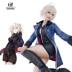 ROLECOS FGO Alter Cosplay Fate Grand Auftrag Anime Kostüme Maische Kyrielight Saber Cosplay Kostüme Spiel Jeanne d'Arc Volle Sets