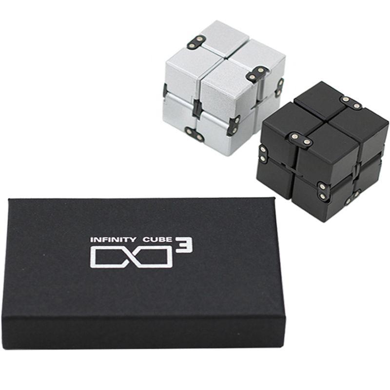 2018 Pour Infinity Cube 2 Haute Qualité Fidget Cube Rubic Neo Cube Antistress Spiner Magique Doigt Spinner Jouet cubo Magico oyuncak