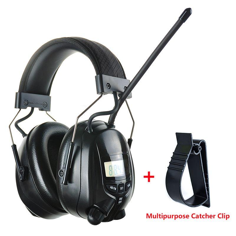Électronique FM AM Radio cache-oreilles Protection auditive de tir insonorisé cache-oreilles chasse protecteur d'oreille réduction de bruit casque
