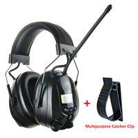 Auriculares electrónicos de Radio FM AM Shooting protección auditiva insonorizados auriculares de reducción de ruido Protector de oreja de caza
