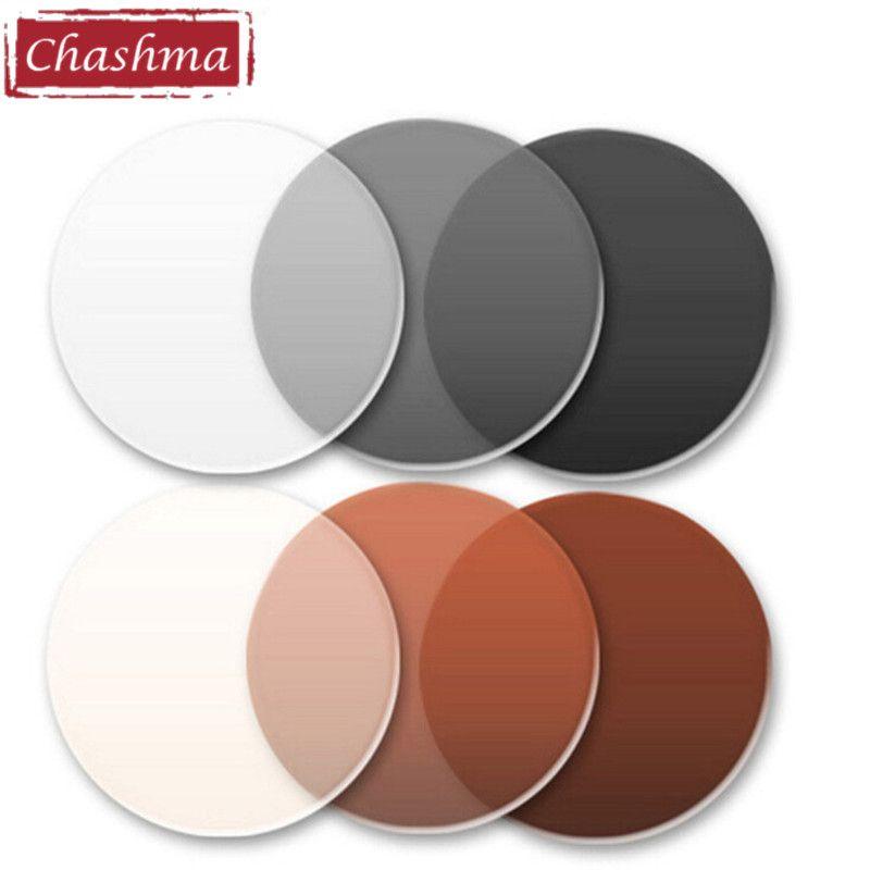 Chashma 1.56 Index Photochromique Antireflet Anti UV Anti Scratch Caméléon Transition Lentilles