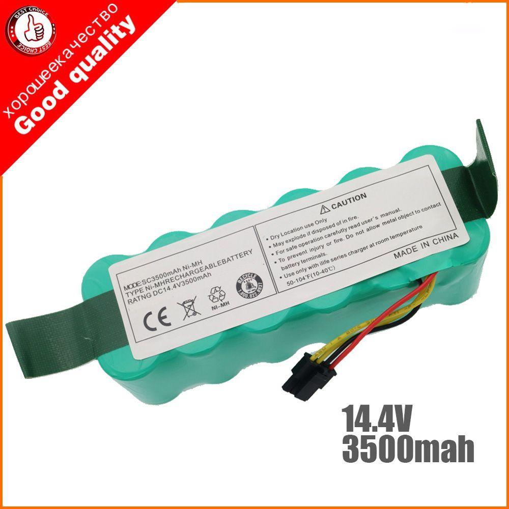 NI-MH 14.4 V 3500 mAh pour panda X500 X600 x850 batterie de haute qualité pour Ecovacs Mirror CR120 aspirateur Dibea X500 X580