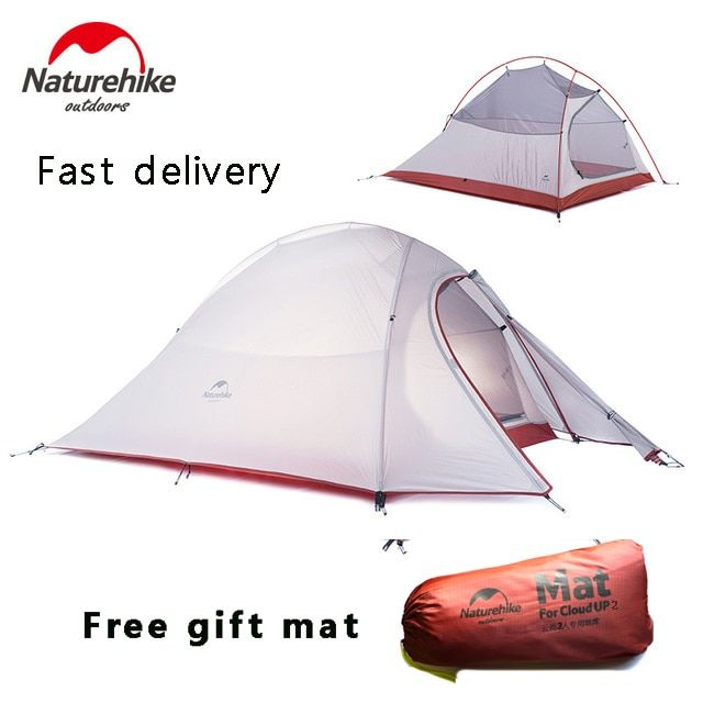 2017 DHL free shipping NatureHike 2 Person <font><b>Tent</b></font> ultralight 20D Silicone Fabric <font><b>Tents</b></font> Double-layer Camping <font><b>Tent</b></font> Outdoor <font><b>Tent</b></font>