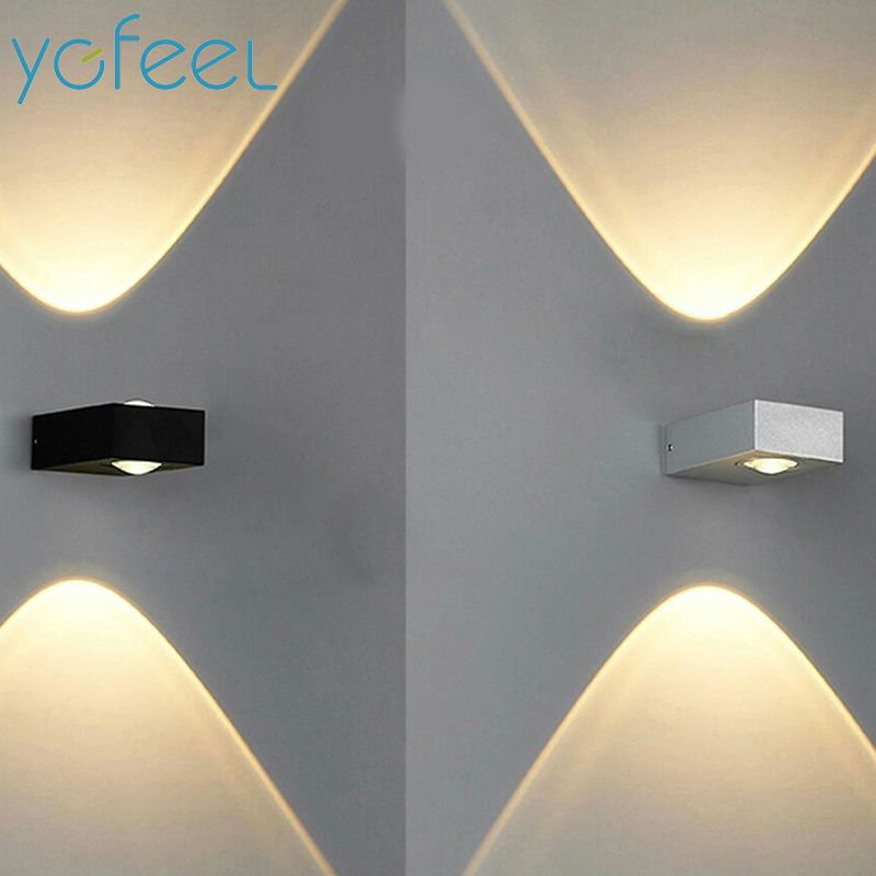 [YGFEEL] Wall Lamps Outdoor Waterproof IP65 6W LED Graden Lamp / Indoor Corridor Staircase Loft Balcony Lighting AC110V/220V