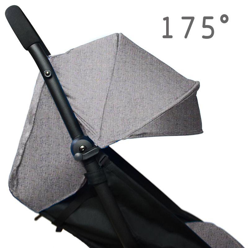 175 degrés accessoires de poussette pour bébé Yoya Babyzen Yoyo housses de siège pare-soleil housse bébé trône temps landau capot coussin