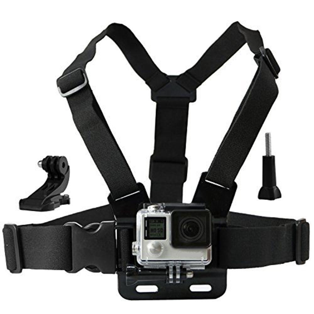 Poitrine Mont Harnais pour GoPro hero 5 6 camera Action Vaniteux Sangle pour Xiaomi yi 4 K SJCAM Pour Eken Pour Go pro sport caméra