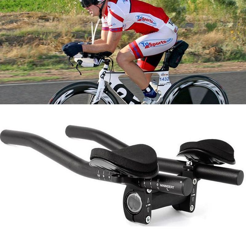 Mountain Bike Handlebar Rest Handle Bar Equipment Race Triathlon Separated Pipe Bicycle Accessories ALS88