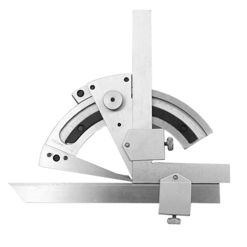 0-320 Precision Angle Measuring Finder Scales Universal Bevel Protractor Tool can be use for long time