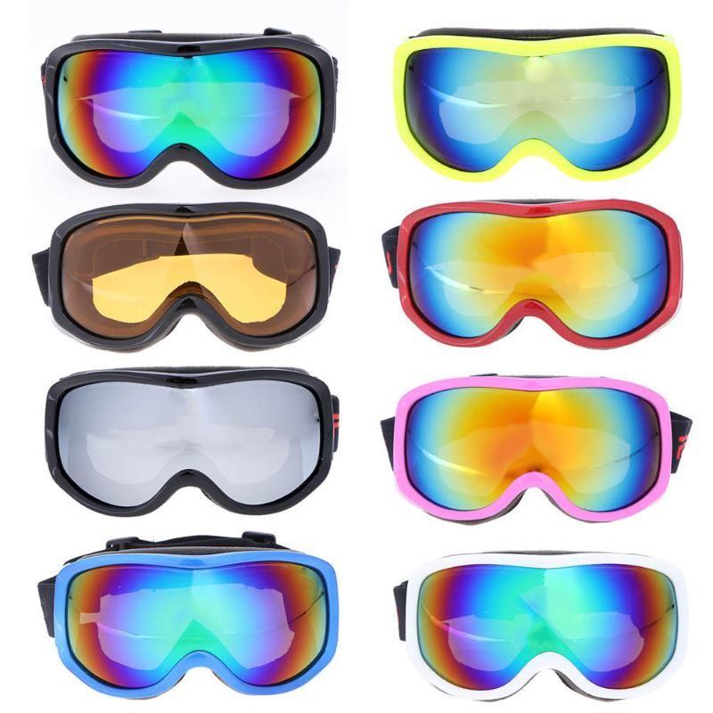 Profesional unisex gafas de esquí niños adultos grande máscara de esquí Gafas hombres mujeres Riding escalada senderismo nieve Gafas de esquí