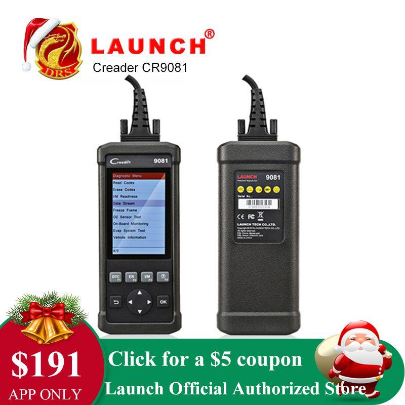 Starten CReader CR9081 Volle OBD2 Diagnose Werkzeug Scanner DIY Auto Code Reader Automotive Scanner Paarung Auto Emissionen Analysator