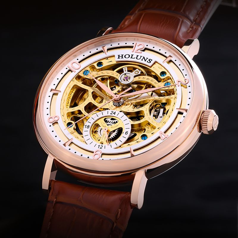 200 m Taucher Hohl Skeleton Automatische Mechanische Uhren Herren Top Marke Luxus Geschäfts Voller Stahl Gewinner Armbanduhr Uhr Stunde