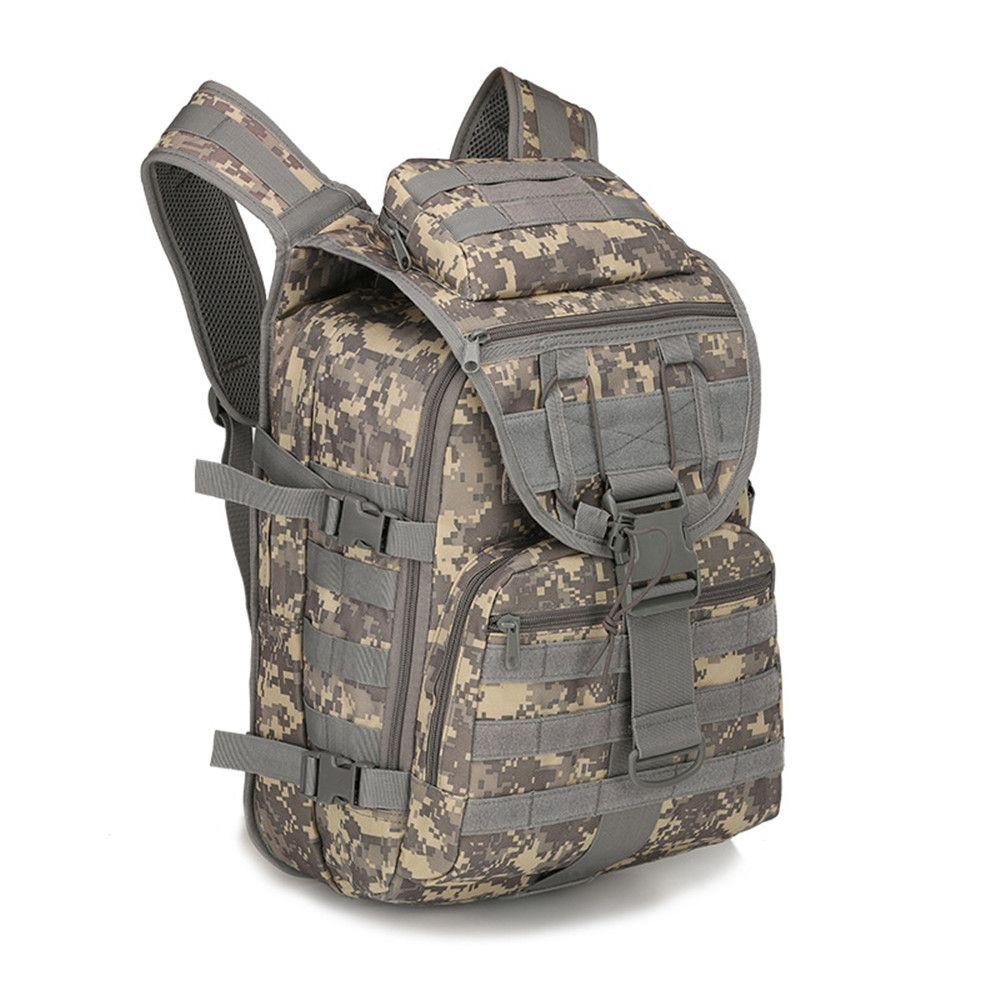 New Fishing Bag 40L Army Pack Package Travel Shoulder Bag Arrow Tactical Pack Outdoor Backpack Camouflage Mountaineering Bag