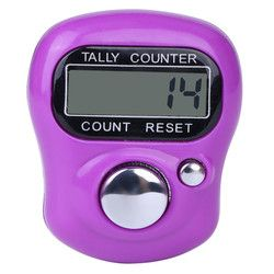 Digital LCD Electronic Golf Finger Hand Ring Knitting Row Tally Counter TALLY Pedometer H0T0