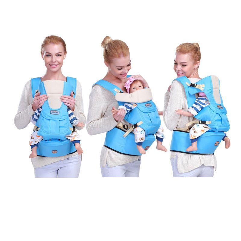 0-36 mois bébé dos kangourou ergonomique porte-bébé fronde sac à dos sac bébé hipseat wrap pour les nouveau-nés hanche siège randonnée