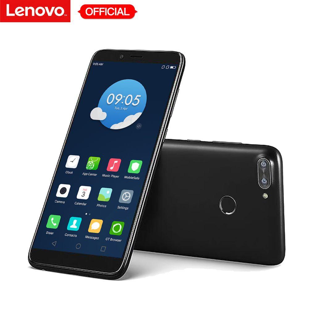 Téléphone portable Lenovo K320t Original 5.7 pouces plein écran Android 7.0 4G LTE Smartphone 2 GB RAM 16 GB ROM 8MP empreinte digitale 3000 mAh