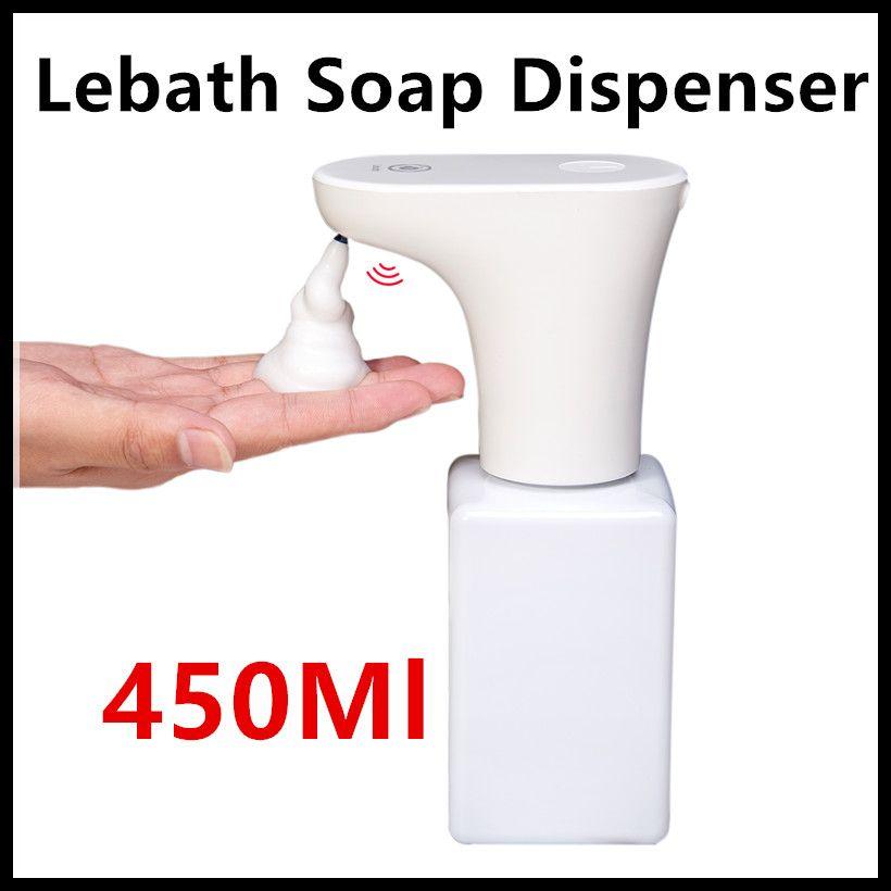 Xiaomi Eco-System Brand Lebath Auto Induction Foam Soap Dispenser Hand Washer Builting Battery Charge 450ML Capacity PK MiniJ